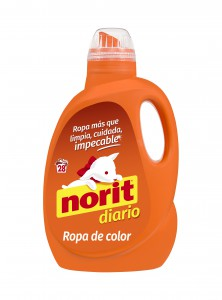 Norit diario ropa de color